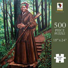 PUZ21 Harriet Tubman $18.50